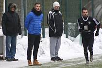 Novým trenérem Kolína je Jaroslav Havrda (druhý zleva).