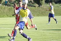 Z utkání Libodřice - Konárovice (3:0).