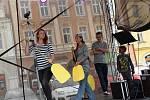 Z posvícenského programu na Karlově náměstí v Kolíně v rámci v rámci Kolínského kulturního léta.