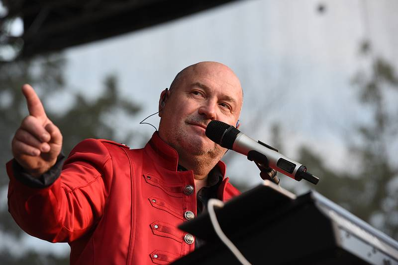 Michal David navštívil fanoušky v Kolíně.