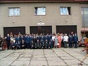 Sbor SDH Zásmuky 130. výročí.