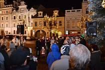 Česko zpívá koledy v Kolíně.