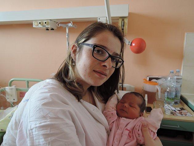Alice Smolíková se rozplakala 21. února 2017. Prvorozená dcera maminky Petry a tatínka Adama ze Sázavy po porodu měřila 50 centimetrů a vážila 3605 gramů.