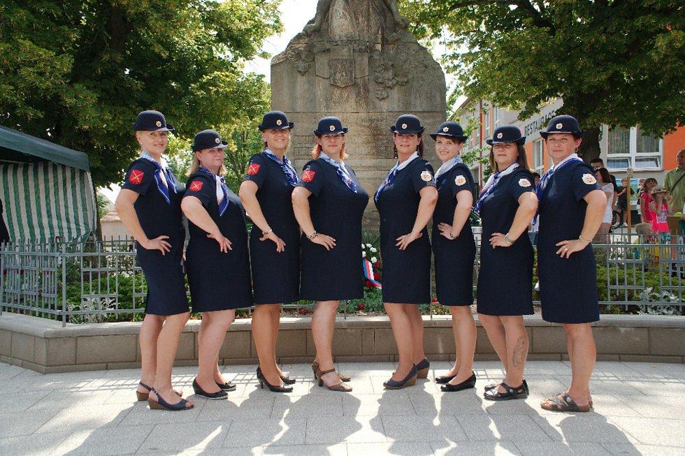 Z oslav 130. výročí založení žiželického hasičského sboru.
