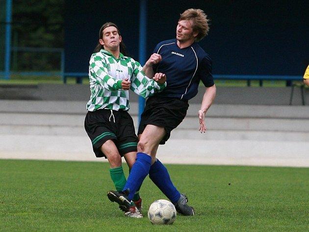 Z duelu FK Kolín B – Plaňany.