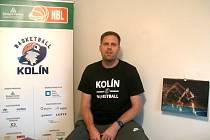 Kolínský basketbalista David Machač ve vědomostním kvízu 5+2 aneb znáš kolínské Medvědy?
