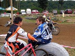 O pohár starosty Krupé v motocrossu