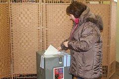 Prezidentské volby II. kolo sobota - Veltruby