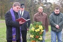 Z pietního aktu za zavražděnou Květoslavu Šátkovou