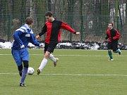 Z utkání dorostu FK Kolín - Polaban Nymburk B.