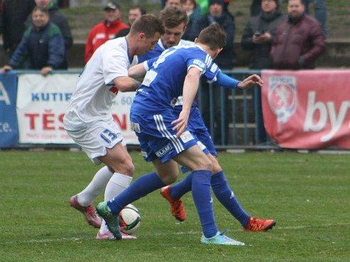 Z utkání FK Kolín - Benátky nad Jizerou (2:0).