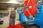 Výroba kabelových chrániček