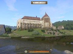 Klášter v Sázavě - pohled ze hry 7297d4cba8