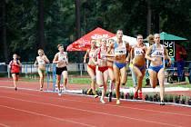 Atletické závody. Ilustrační foto.