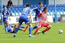 Z přípravného utkání FK Kolín - Kutná Hora (7:1).