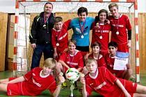 Vítězný tým 5. základní školy v Kolíně