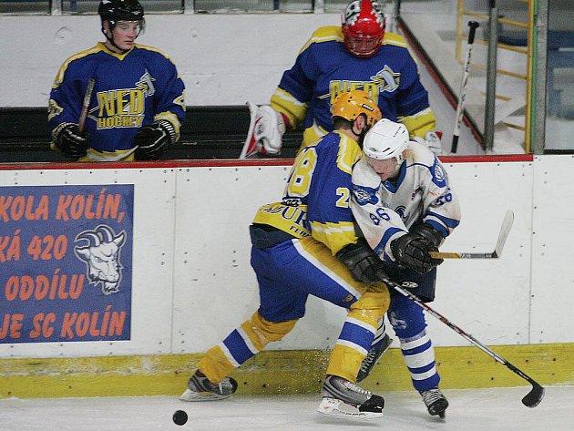 Z utkání ligy juniorů SC Kolín - Nymburk (4:0).