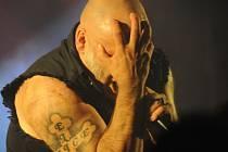 Na koncert zpěváka britské legendy Iron Maiden se sjeli metaloví fanoušci z celé republiky