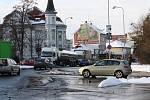 Nehoda u Libenic způsobila kolaps nejen v Kolíně