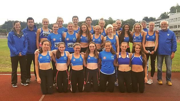 Kolínské ženy vyhrály první ligu.