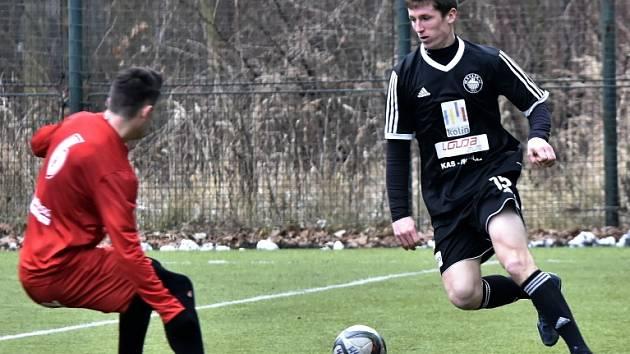 Z přípravného utkání FK Kolín - Převýšov (0:2).