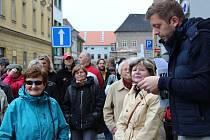 Starosta Kolína Vít Rakušan opět provedl zájemce po městě