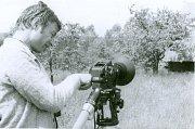 Natáčení dokumentárního filmu o skanzenech, rok 1981