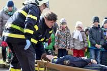 Vitické děti strávily den s hasiči