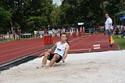 Ze třetího kola prvoligové atletické soutěže mužů a žen na stadionu Mirka Tučka v Kolíně.