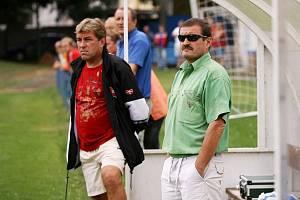 Ladislav Bobek (vpravo) si po odchodu Pavla Dvořáka musí najít nového asistenta.