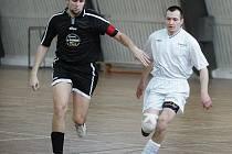 Z futsalové turnaje okresního přeboru Praha - východ v Kolíně.