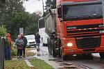 Nehoda vylekala i místní obyvatele.