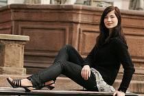 Modelka Martina Karkošová