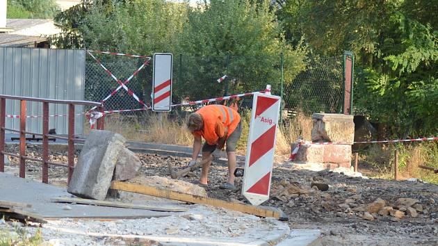 Radimský most se již orpavuje