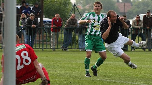 Z utkání Velim - Bohemians 1905 B (4:0).