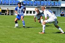 Z divizního fotbalového utkání Kladno - Český Brod (3:0)