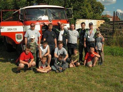 Plaňanští hasiči asistovali i při nedávné rekonstrukci bitvy u Kolína.
