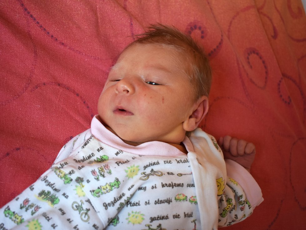 Samantha Krčmářová se prvně podívala na maminku Terezu a tatínka Pavla 26. března 2017. Po porodu se chlubila výškou 50 centimetrů a váhou 3535 gramů. Rodina je zChocenic.