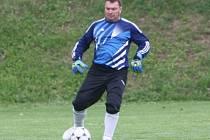 Z utkání Libodřice - Plaňany (0:0, PK 2:4).
