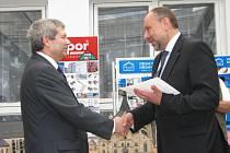 Ze slavnostního ceremoniálu předávání ocenění pro Stavbu roku 2012