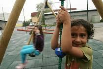 Dětské hřiště v Zengrově ulici