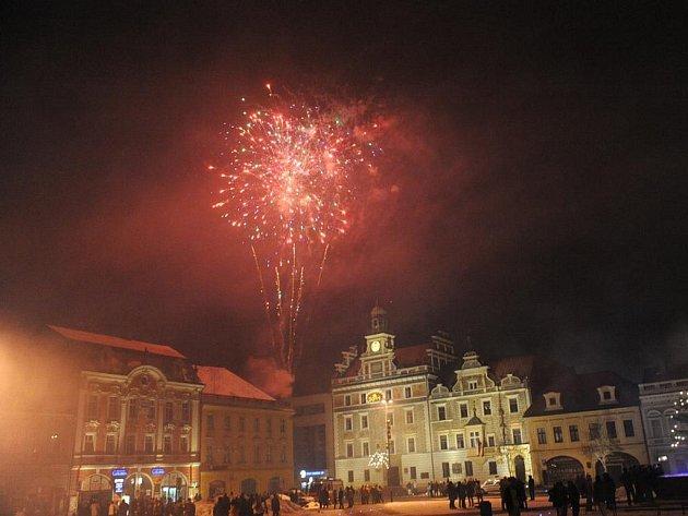 Kolín přivítal nový rok