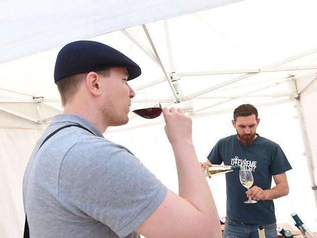 Vinný košt na Karlově náměstí vKolíně