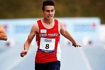 ŠTĚPÁNU HAMPLOVI, kolínskému sprinterovi, unikl start ve finále mistrovství Evropy do sedmnácti let v gruzínském Tbilisi o jedinou setinu sekundy