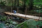 Obnova mostků přes Šemberu a Lázný potok.