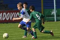 Z utkání FK Kolín U12 (ročník 2002) - Letohrad (3:1).