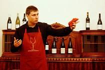 Martin Kudrnovský se věnuje také sommeliérství.