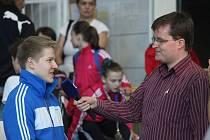 Daniel Radovesnický si užívá popularity.