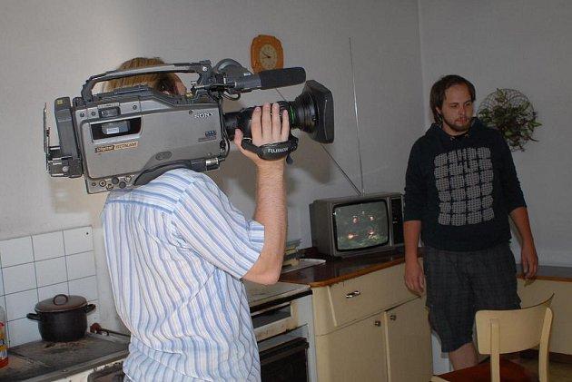 Natáčení seriálu Na Stopě na Kolínsku