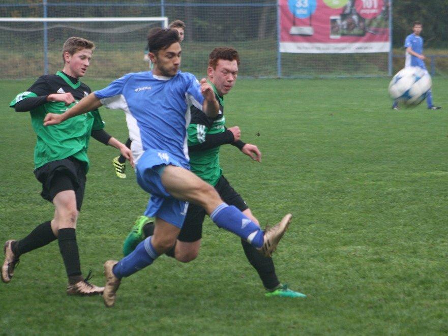 Z utkání FK Kolín U19 - Nymburk (8:0).